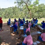 The Water Project: Gidimo Primary School -  Sneeze Or Cough Into The Elbow