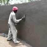 The Water Project: Jimarani Primary School -  Smooth Layer Of Cement On The Inside Walls
