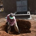The Water Project: Jimarani Primary School -  Digging The Soak Pit