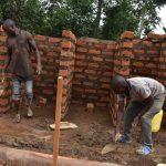 The Water Project: Jimarani Primary School -  Latrine Brick Work