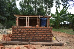 The Water Project:  Latrine Roofing