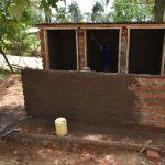 The Water Project: Jimarani Primary School -  Plastering Latrines