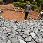 The Water Project: Jimarani Primary School -  Laying The Stones