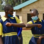 The Water Project: Jimarani Primary School -  Practical Demonstration On Contactless Greetings