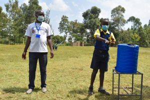 The Water Project:  Practical Demonstration On Handwashing