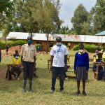 The Water Project: Jimarani Primary School -  Health Club Elected Leaders With Facilitator