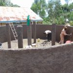 The Water Project: Kitambazi Primary School -  Plastering The Inside
