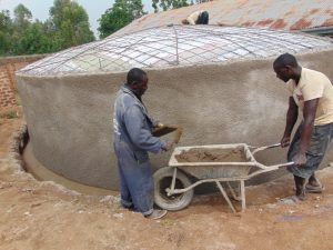 The Water Project:  Roughcasting