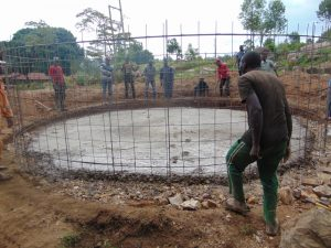 The Water Project:  Setting The Frame In Place