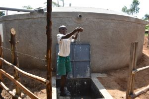 The Water Project:  A Happy Moment