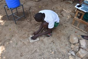 The Water Project:  Breaking Down Charcoal For Dental Hygiene Session