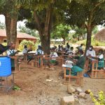 The Water Project: Kitambazi Primary School -  Leading The Handwashing Exercise