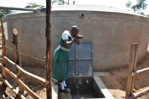 The Water Project:  Taking A Sip Of Water