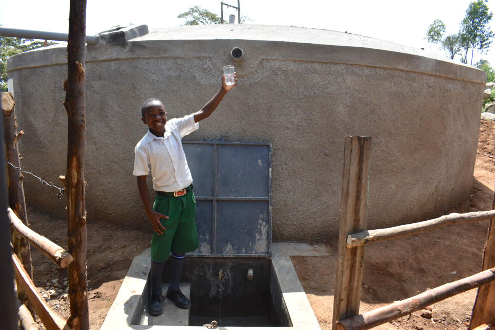 The Water Project : kenya21232-raise-a-glass-to-clean-water