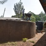 The Water Project: Friends Musiri Primary School -  Laying The Dome