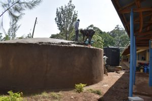 The Water Project:  Laying The Dome