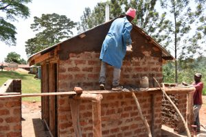 The Water Project:  Plastering The Latrines