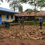 The Water Project: Friends Musiri Primary School -  Laying Stone Foundation