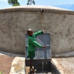 The Water Project: Friends Musiri Primary School -  Happy Faces At The Rain Tank