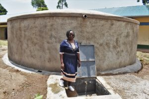 The Water Project:  Madam Margaret At The Water Point