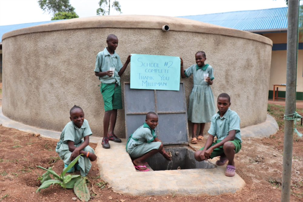 The Water Project : kenya21235-happy-day-1