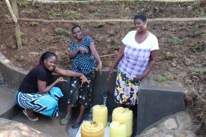 The Water Project:  Happy Faces At Lubale Spring