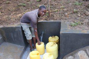 The Water Project:  Kellian Fetching Water