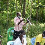 The Water Project: Emutetemo Community, Lubale Spring -  The Training Was Full Of Life And Reactions