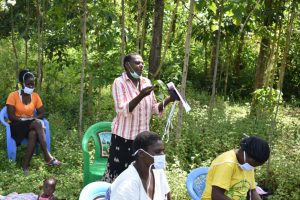 The Water Project:  The Training Was Full Of Life And Reactions