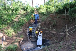 The Water Project:  Celebrating The Completed Spring