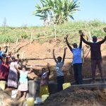The Water Project: Mushikulu B Community, Olando Spring -  Cheers For The Completed Spring