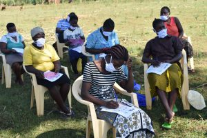 The Water Project:  Listening And Taking Notes At Training