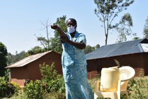 The Water Project:  Peletina Oloyo Washing Hands Up To Elbows