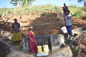 The Water Project:  People Collecting Water
