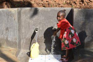 The Water Project:  Rahma Enjoying Water