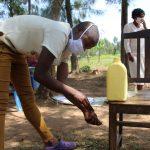 The Water Project: Mabanga Community, Ashuma Spring -  Handwashing Session