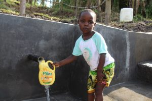 The Water Project:  All Ages Can Safely Access The Spring