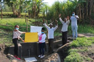 The Water Project:  Celebrating Completed Spring