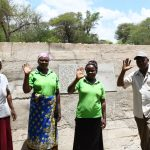 Thona Community Sand Dam Complete!
