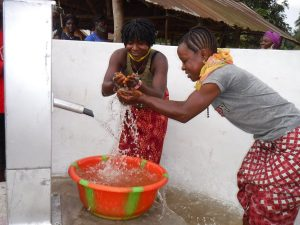 The Water Project:  Splashing Water From The Well