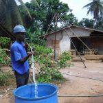 The Water Project: Lokomasama, Rotain Village -  Yield Test