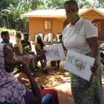 The Water Project: Lokomasama, Rotain Village -  Community Health Lesson