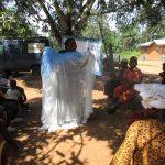 The Water Project: Lokomasama, Rotain Village -  Mosquito Net Demonstration