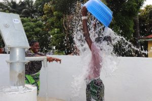 The Water Project:  Dumping Water In Celebration