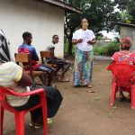 The Water Project: Lungi, Suctarr, #47 Kamara Street -  Facilitator Leads The Training