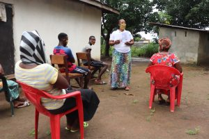 The Water Project:  Facilitator Leads The Training