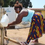 The Water Project: Lungi, Suctarr, #47 Kamara Street -  Handwashing At The Well