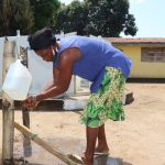 The Water Project: Lungi, Suctarr, #47 Kamara Street -  Handwashing Before Using The Well