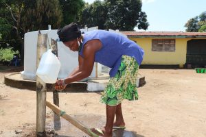 The Water Project:  Handwashing Before Using The Well