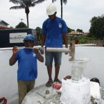 The Water Project: Lungi, Suctarr, #47 Kamara Street -  Pump Installation